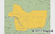 Savanna Style Map of Gao