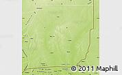 Physical Map of Menaka