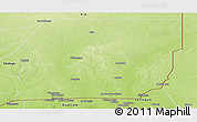 Physical Panoramic Map of n.a.