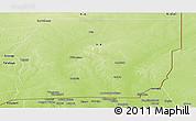 Physical Panoramic Map of Menaka