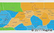 Political Shades 3D Map of Nioro