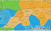 Political Shades Map of Nioro