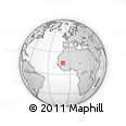 Outline Map of Nioro