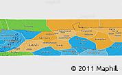 Political Shades Panoramic Map of Nioro