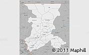 Gray 3D Map of Koulikoro