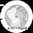 Outline Map of Kalban-Coro