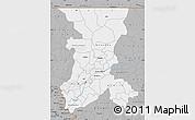 Gray Map of Koulikoro