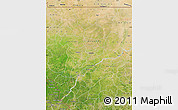 Satellite Map of Koulikoro