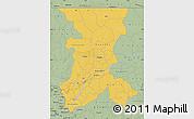 Savanna Style Map of Koulikoro