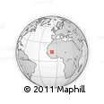 Outline Map of Balle