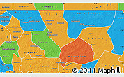 Political Map of Nara