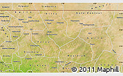 Satellite Map of Nara