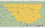 Savanna Style Map of Nara