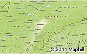 Physical Map of Mopti