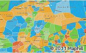 Political Map of Mopti