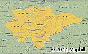 Savanna Style Map of Mopti