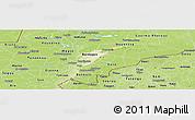 Physical Panoramic Map of Mopti