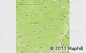 Physical Map of Segou