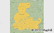 Savanna Style Map of Segou