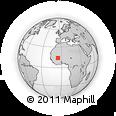 Outline Map of Segou