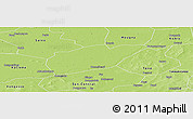 Physical Panoramic Map of Sy