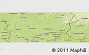 Physical Panoramic Map of Kadiolo-Central