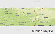 Physical Panoramic Map of Loulouni