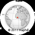 Outline Map of Misseni