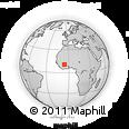 Outline Map of Kadiolo