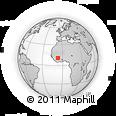 Outline Map of Fakola
