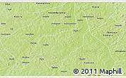 Physical 3D Map of Toussekela