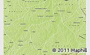 Physical Map of Toussekela