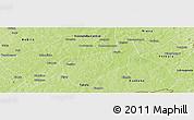 Physical Panoramic Map of Toussekela