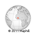 Outline Map of Klela