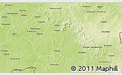 Physical 3D Map of Lobougoula