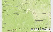 Physical Map of Lobougoula
