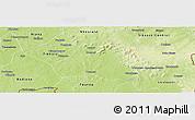 Physical Panoramic Map of Lobougoula