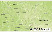 Physical 3D Map of Nkourala