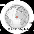 Outline Map of Nkourala