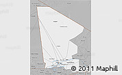 Gray 3D Map of Tombouctou