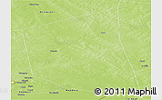 Physical Panoramic Map of Gossi