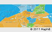 Political Shades 3D Map of Niafunke
