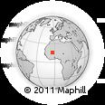 Outline Map of Niafunke