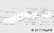 Silver Style Simple Map of Niafunke