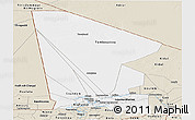 Classic Style Panoramic Map of Tombouctou