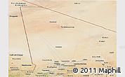 Satellite Panoramic Map of Tombouctou