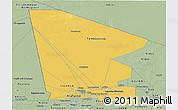 Savanna Style Panoramic Map of Tombouctou