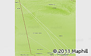 Physical Panoramic Map of Tombouctou-Central
