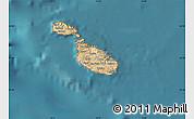 Satellite Map of Malta