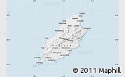 Gray Map of Isle of Man